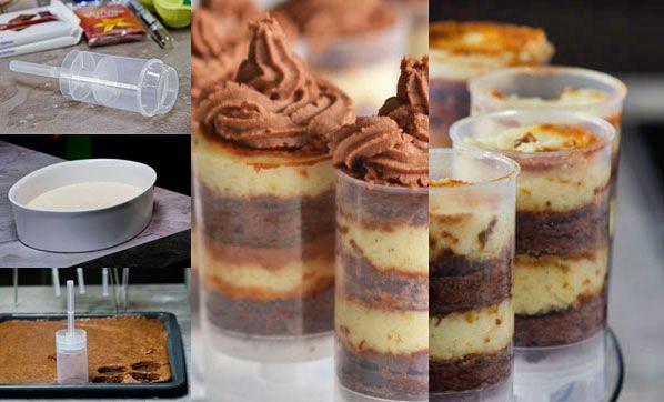 Push-Up Pops, Brownies und Co - Cheesecake-Gebäck | Chefkoch.de Magazin