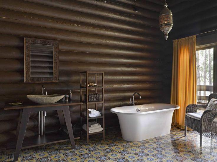 156 best Badezimmer images on Pinterest Bathroom, Bathtubs and - interieur warmen farben privatwohnung