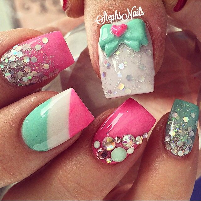 294 best Nails images on Pinterest | Belle nails, Beauty nails and ...
