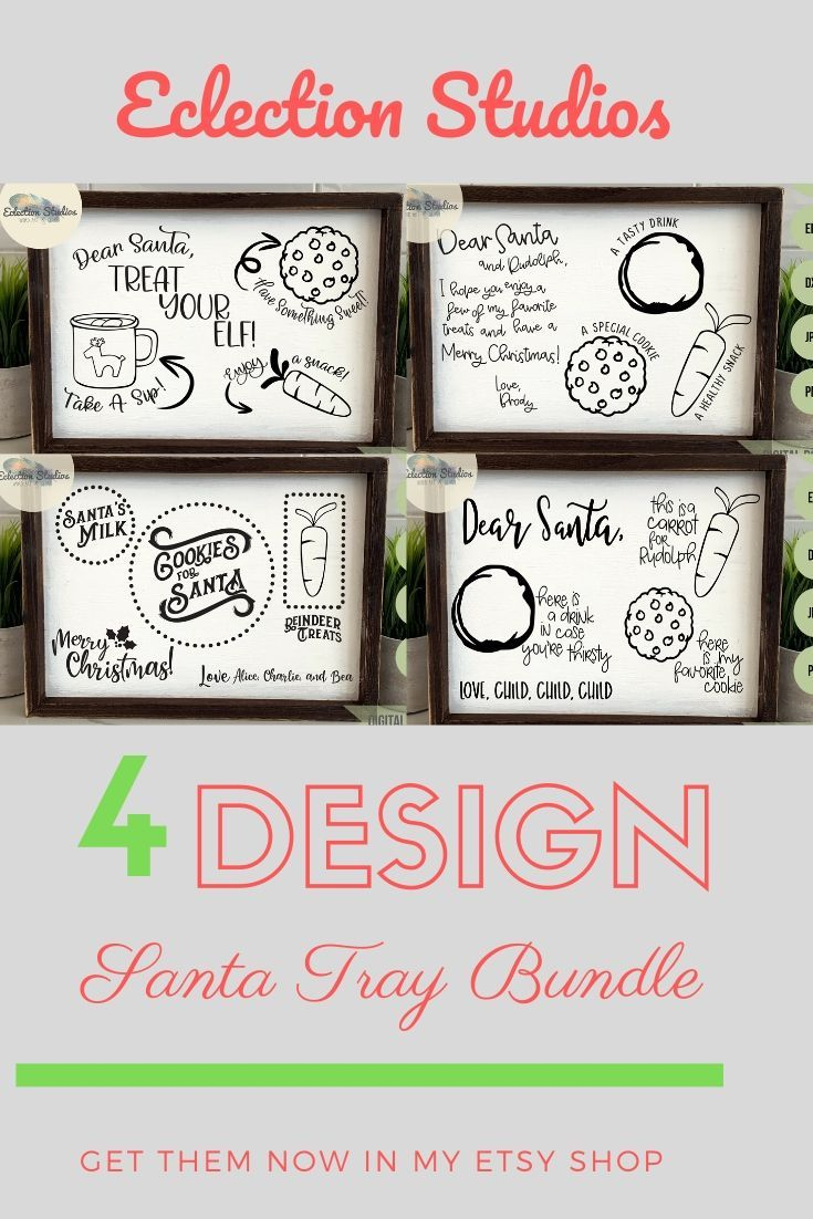 Cookies for Santa SVG Collection Bundle, Christmas SVG