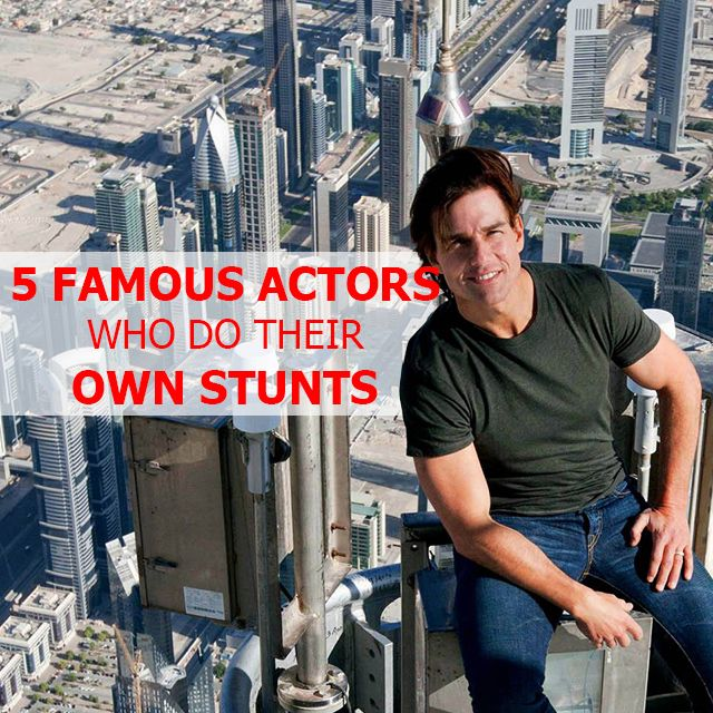 Find out which #FAMOUS #ACTORS DO THEIR OWN #STUNTS HERE http://bit.ly/28PsxBR #Adrenalin #AdrenalinJunkie