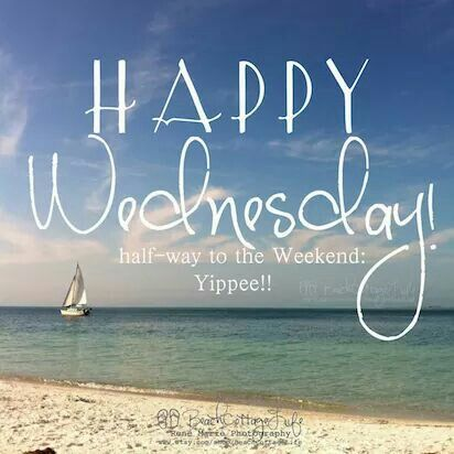 Happy Wednesday  -beach