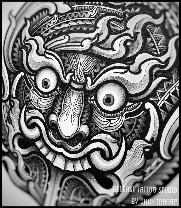 Thai tattoo Jack manop Release tattoo studio