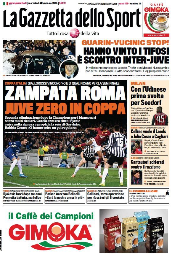 La Gazzetta dello Sport (22-01-14) Italian | True PDF | 36 19 pages | 10,99 6,46 Mb