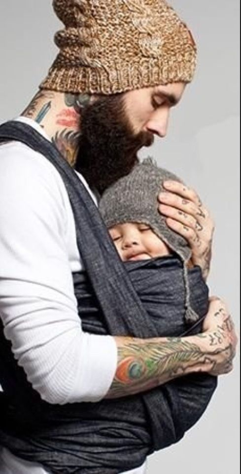 Beards and Babies - Some things just go together.