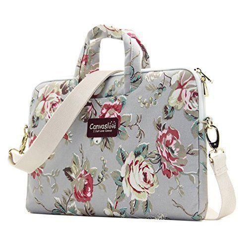 Laptop Bag Case Macbook Pro 15 Shoulder Messenger 15.6'' Carrying Sleeve Fashion #Canvaslove