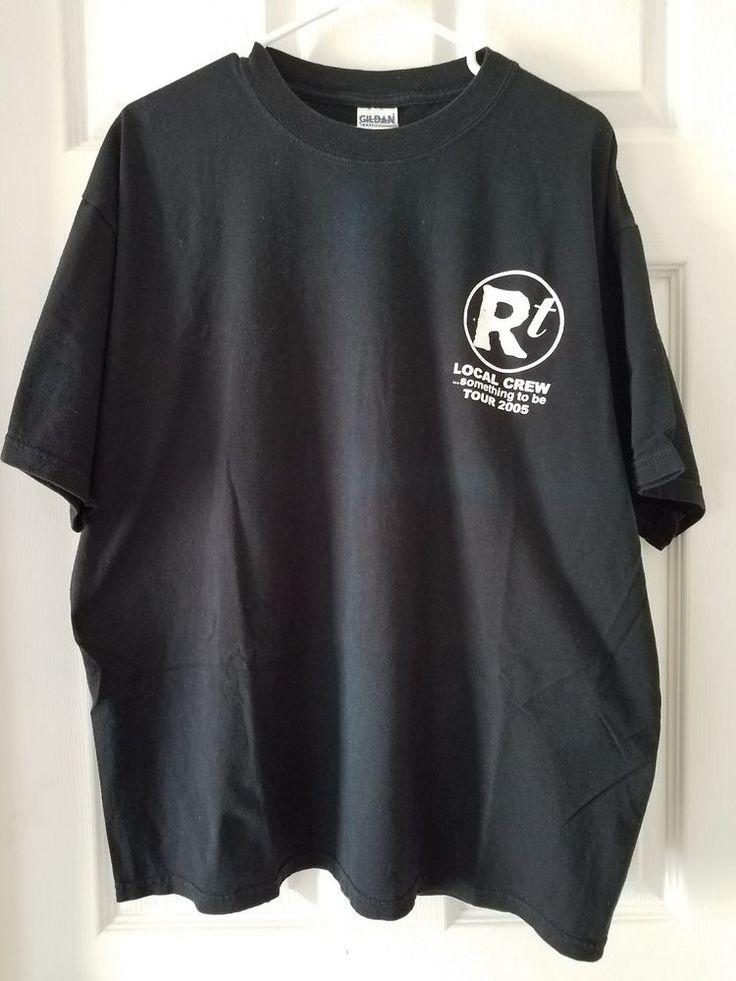 ROB THOMAS Matchbox 20   Local CREW T- Shirt XL 2005 Something To Be Tour
