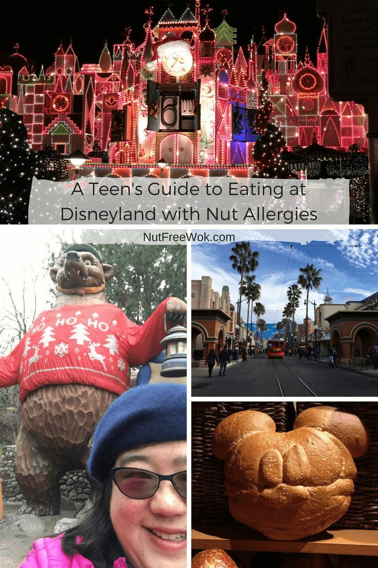 What do you do when your teenaged son with nut allergies tells you he'll be traveling 396.4 miles away without you to go to Disneyland in Anaheim for a 4 day trip? My apron strings aren't long enough! We decided to take a family trip and scout out nut allergy friendly quick service restaurants. (scheduled via http://www.tailwindapp.com?utm_source=pinterest&utm_medium=twpin&utm_content=post144791103&utm_campaign=scheduler_attribution)