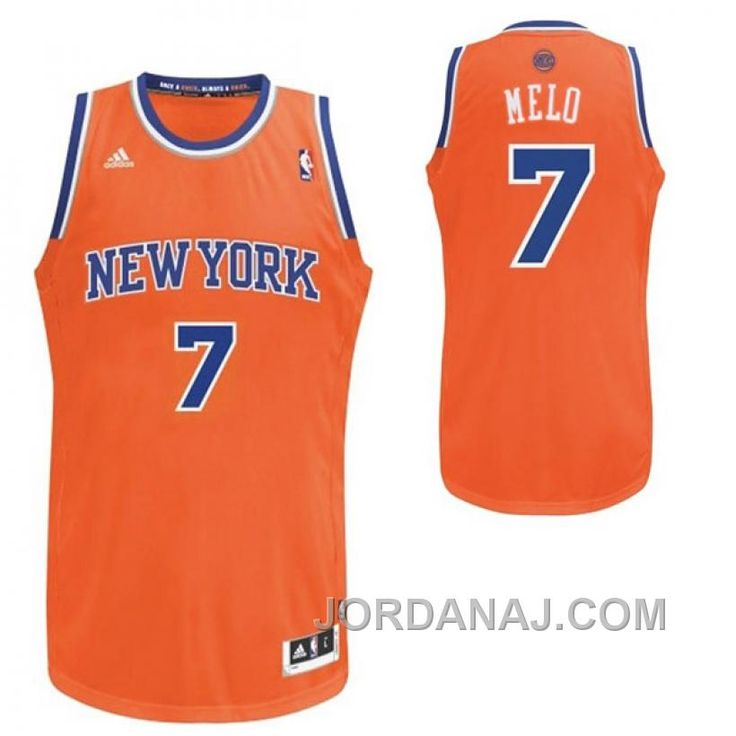 ... Buy Black Friday Deals Carmelo Anthony New York Knicks Nickname MELO  Swingman Orange Jersey from Reliable ... 2c269962c
