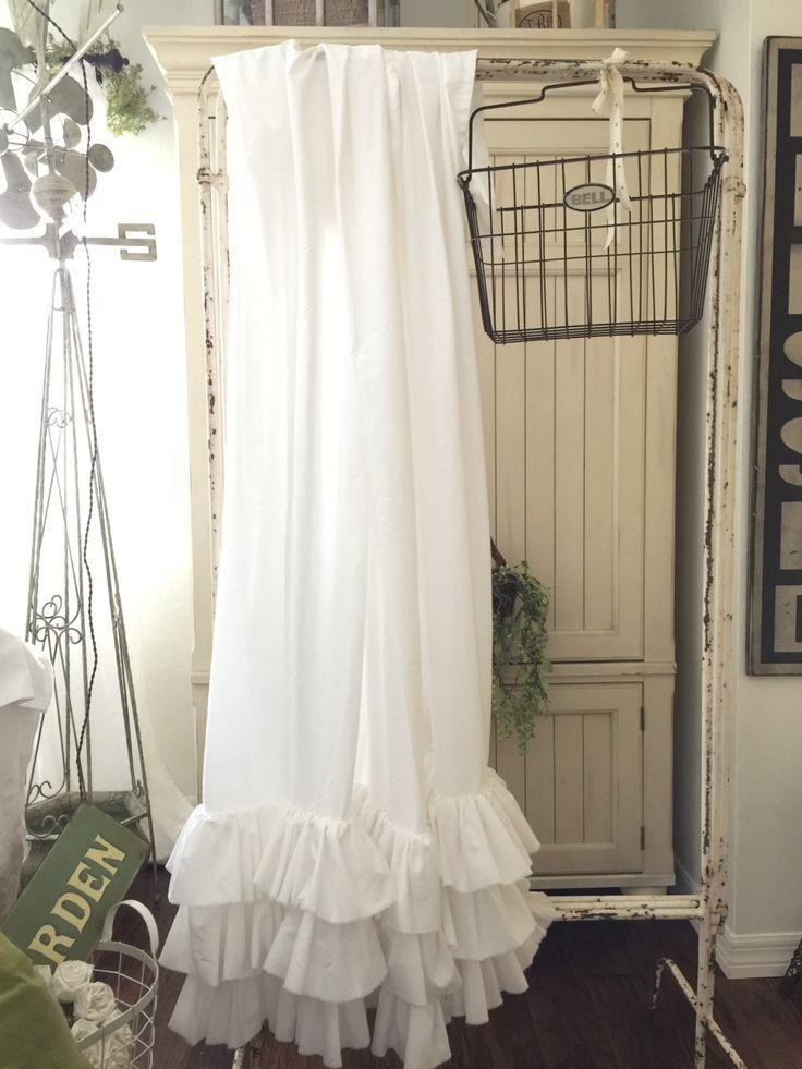 M s de 1000 ideas sobre cortinas con volantes en pinterest - Volantes de cortinas ...