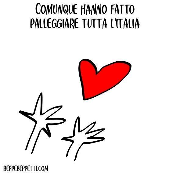 Comunque hanno fatto palleggiare tutta l'Italia (#grazieAzzurre)