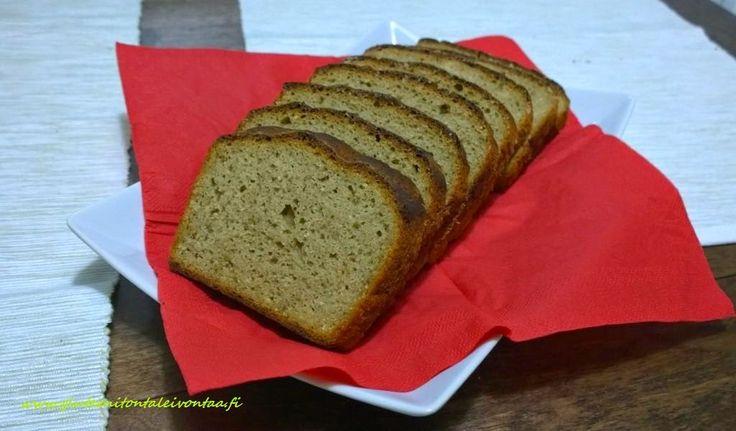 Gluteenitonta leivontaa: Joululeipä