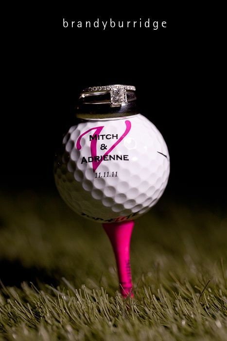 golf theme wedding ideas | The personalization golf theme! | Wedding Ideas