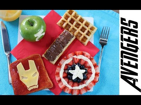 MARVEL AVENGERS Super Hero Breakfast Set   My Cupcake Addiction @alishacullenwi thought you would enjoy this!