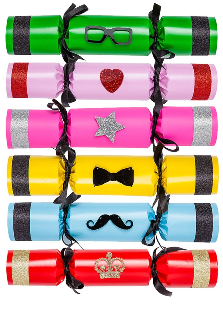 Tatty Devine Deluxe Christmas Crackers - £75: http://www.tattydevine.com/tatty-devine-deluxe-crackers.html