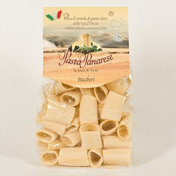 Vendita online | Paccheri Lisci Pasta di semola di grano duro sacchetto da gr.500 Pasta Panarese - Gastronomia - Prodotti Italiani
