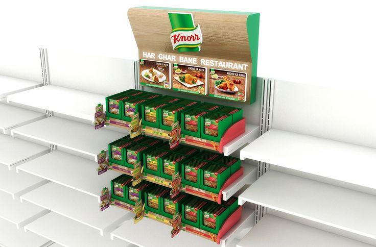 Knorr POSM on Behance