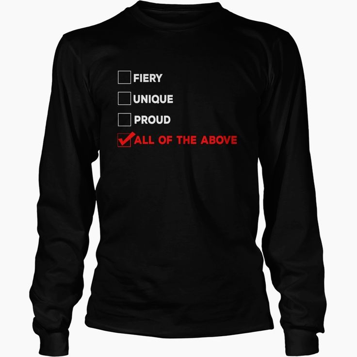 #Redhead Fiery Unique Proud, Order HERE ==> https://www.sunfrog.com/LifeStyle/108989319-274611937.html?6789, Please tag & share with your friends who would love it, #ginger men, ginger water, ginger weightloss #motorcycles, #quotes, #science  redheads lingerie, redheads hottest, redheads witch  #entertainment #food #drink #gardening #geek #hair #beauty #health #fitness #history