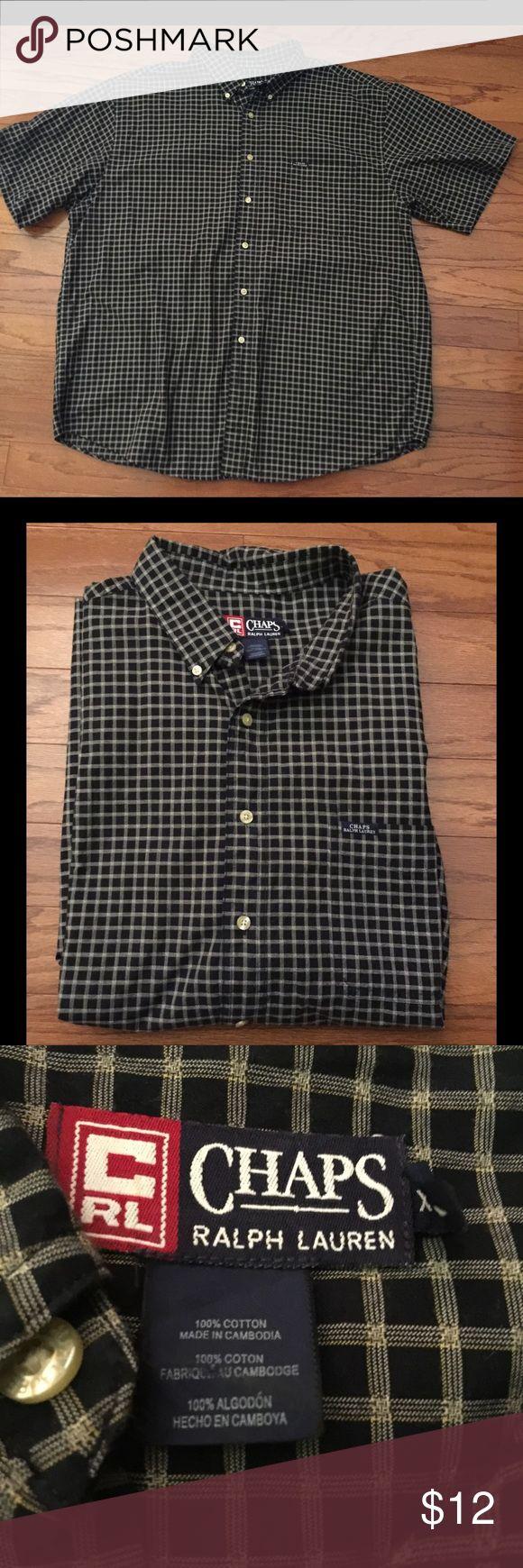 Men's Chaps by Ralph Lauren Shirt Men's Chap by Ralph Lauren Shirt. In great condition. Size XXL Chaps Shirts Casual Button Down Shirts