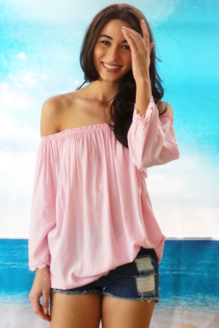 Top Ice Cream in Pale Pink $45.99