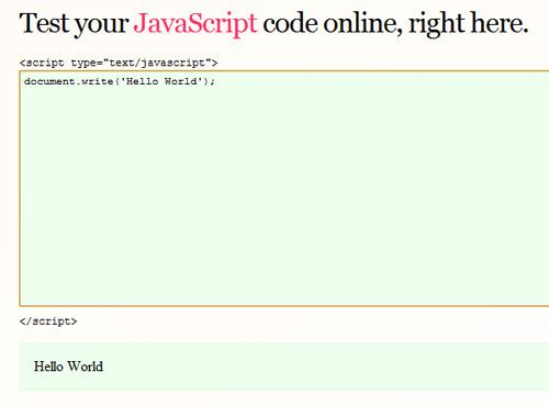 15 Websites To Test Your Codes Online