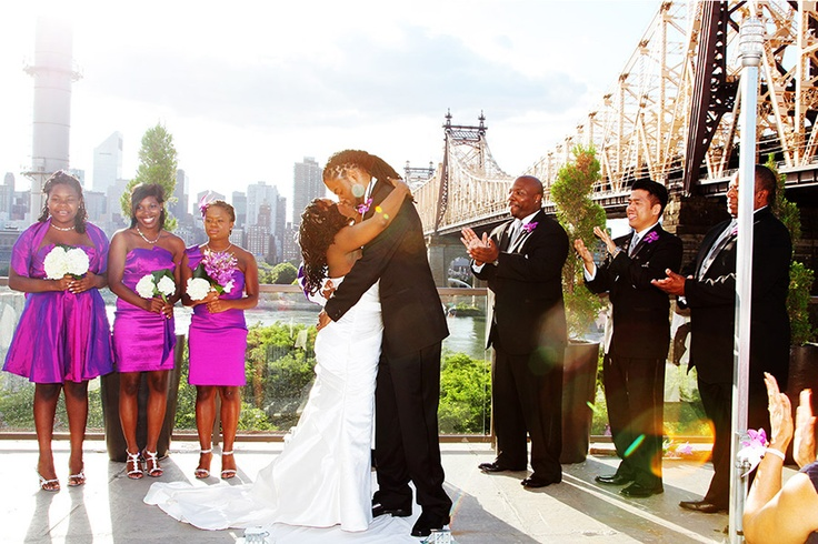 Beautiful Outdoor Wedding Ceremony At Tribeca Rooftop: 96 Best Images About NYC Rooftop Weddings On Pinterest