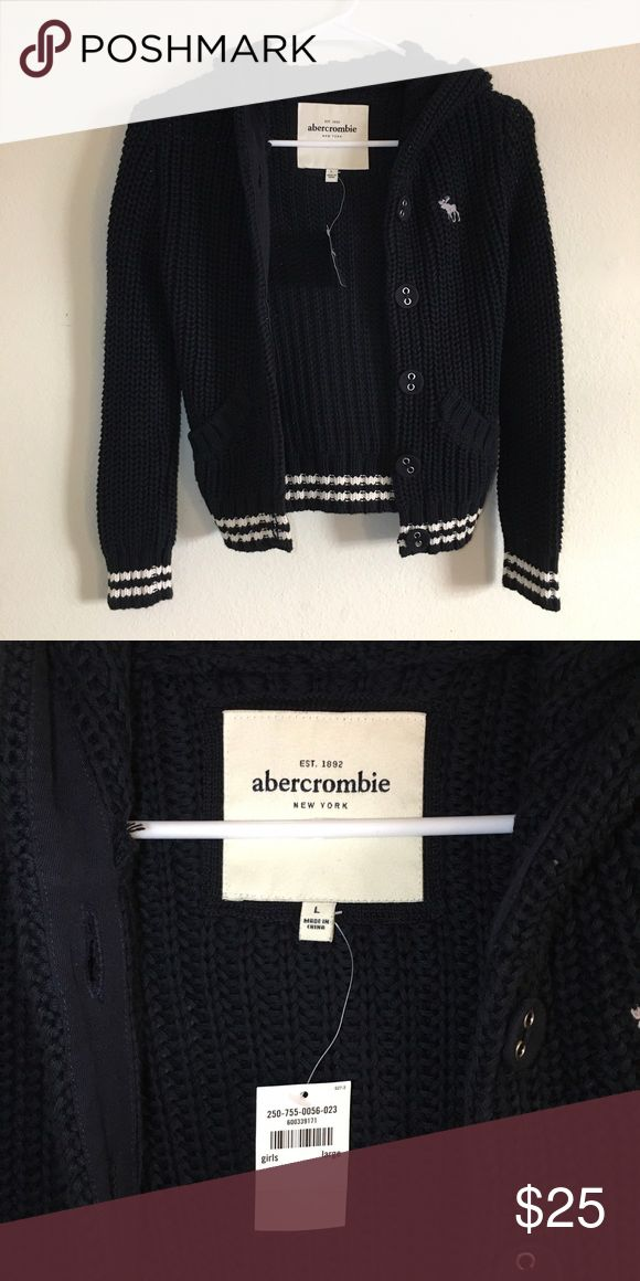 Abercrombie Kids Girls Knit Jacket Cardigan Brand: Abercrombie (kids) Size: L (=Women XXS) Condition: 100% New with tag  Closet Clearance! For all HCO/A&F items, I can offer bundle discount! Comment below :) abercrombie kids Jackets & Coats