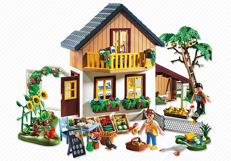 Farm House with Market - 5120 - PLAYMOBIL® USA