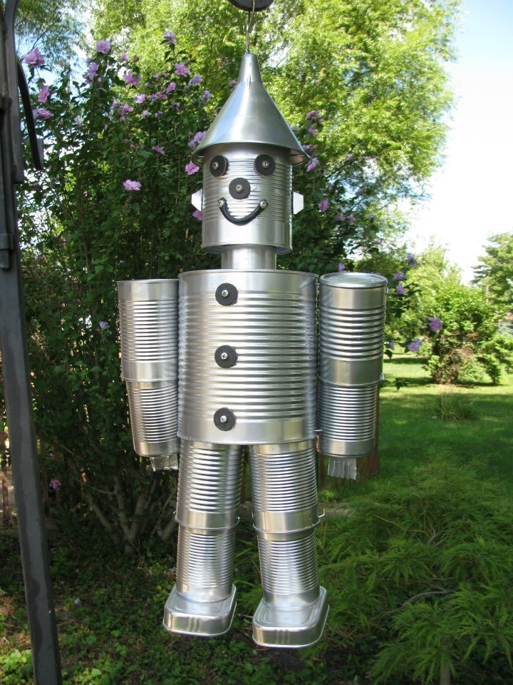 Tin can man ideas to try pinterest for Tin can tin man craft