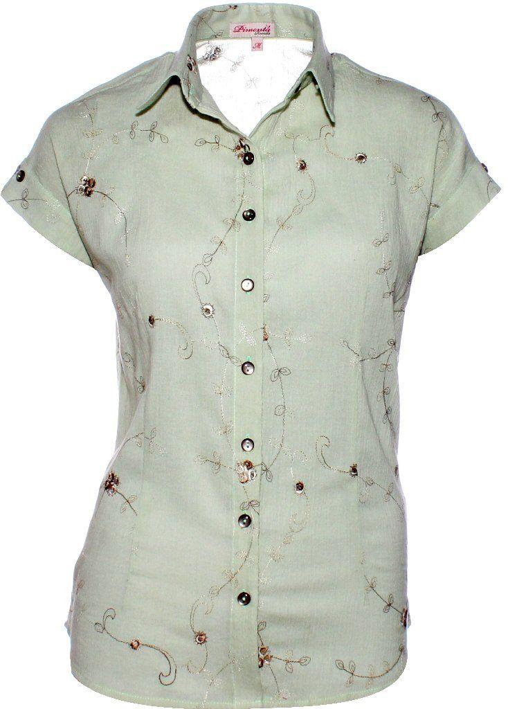 Camisa Feminina Maytê em Lese - Pimenta Rosada  - foto principal 1