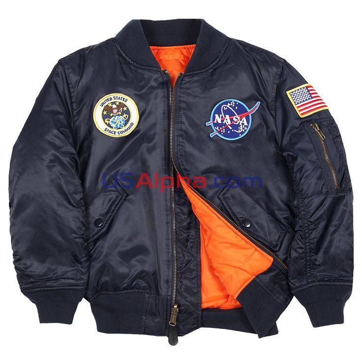 Детская куртка NASA MA-1 #аляска #парка #детская куртка #демисезонная куртка #детям #мода #alpha #usalpha.com