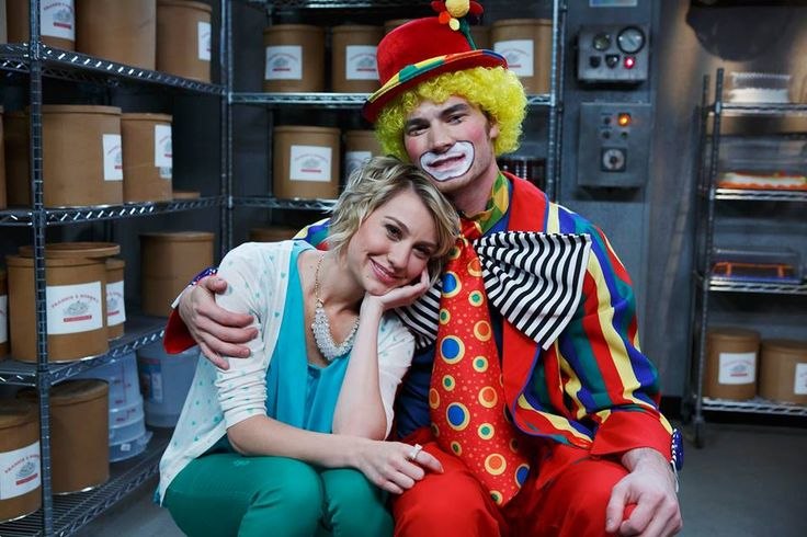 """S3 Ep12 """"Send in the Clowns"""" - Riley and Danny"""