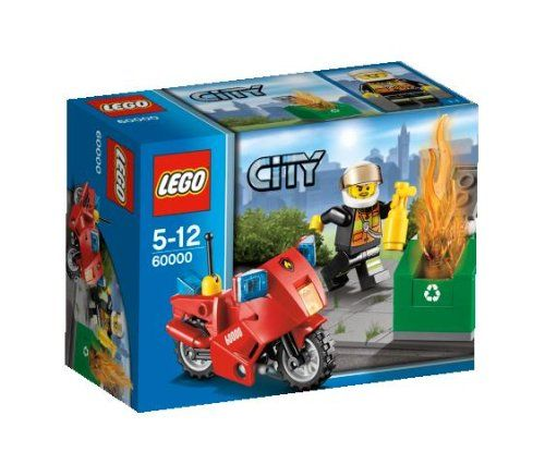 Lego City 60000 - Feuerwehr-Motorrad » LegoShop24.de