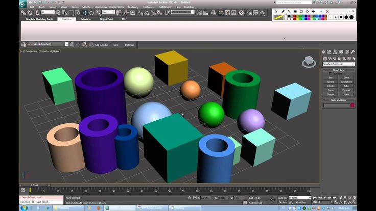 3ds max basico (Interface)