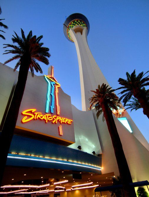 The Stratosphere houses the world's highest thrill rides and the tallest controlled free fall in the world, the SkyJump Las Vegas. Description from citrusholidays.co.uk. I searched for this on bing.com/images