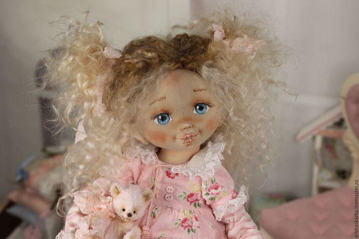 Купить Розочка . Кукла авторская шебби-шик - кукла ручной работы, кукла, кукла в подарок