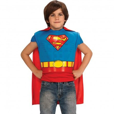 Child Muscles-Chest Superman Costume