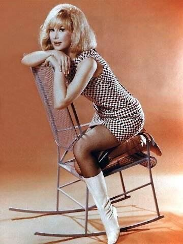 Barbara eden in pantyhose