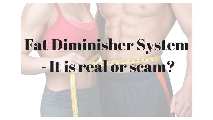 Weight loss tips - The Fat Diminisher System Review - It is real or scam?