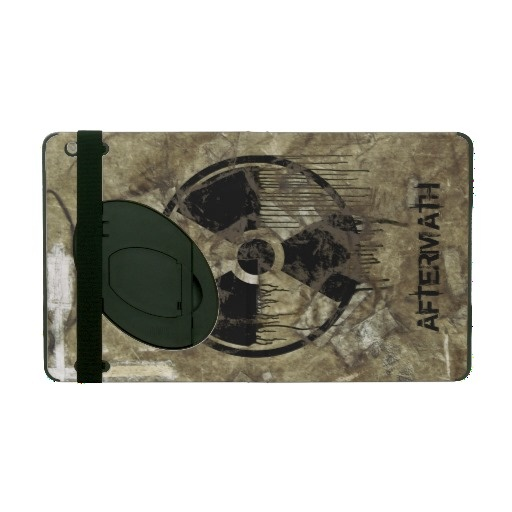 AFTERMATH iPad COVER. A Post-apocalyptic, fully customizable design by BannedWare.