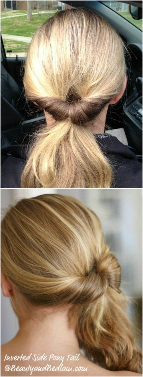 The Inverted Ponytail
