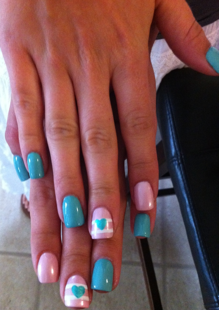 Origami Owl ~ Easter ~ Nails