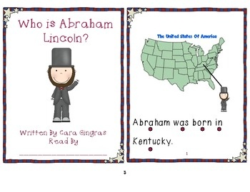 Presidents Day Emergent Reader, Sort, and Writing Prompt - This is a pack of Emergent Readers, a sorting game, and a writing prompt. All are focused on comparing Abraham Lincoln and George Washington. $