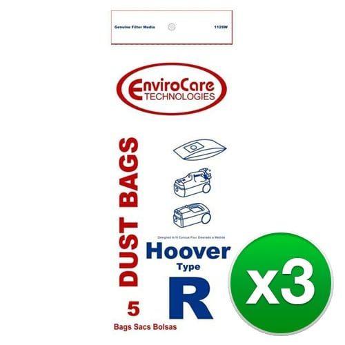 Replacement Vacuum Bag for Hoover U6476900 Vacuum Model 3pk -Paper Type 5 Bags/pk