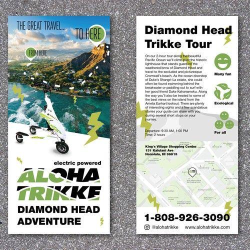 fun tour company in hawaii needs awsome flyer! Postcard