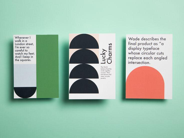 "womenofgraphicdesign: "" Georgia Cranstoun (London) Back to the Futura postcard set, 2015 """