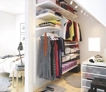 Aménager un dressing : dressing en kit, dressing sur mesure... - CôtéMaison.fr