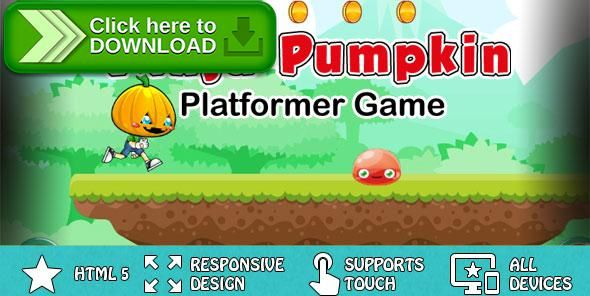 [ThemeForest]Free nulled download Ninja Pumpkin - Platformer Game from http://zippyfile.download/f.php?id=49913 Tags: ecommerce, android game, browser game, html5 game, iOS GAME, jumping game, mobile game, one touch game, platformer game, Responsive Game, runner game, skill game, touch game, web game, website game