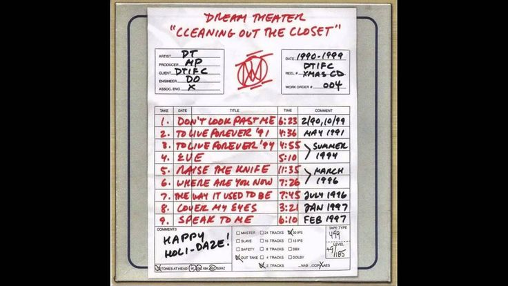 Dream Theater - Where are you now?