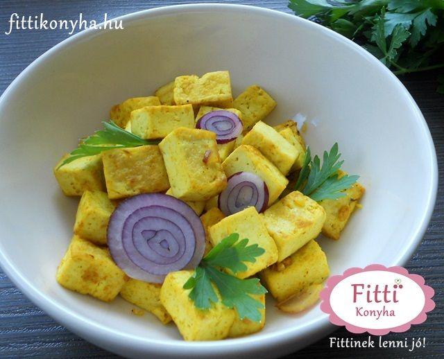 Sült tofu - Egyszerű tofu recept - Szilvi ÍzVilág